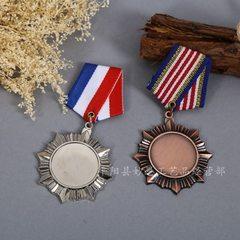 金属奖牌定做马拉松知识竞赛锌合金勋章个性定制创意运动会奖牌 定制
