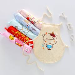 New baby`s pouch pocket pure cotton mother baby supplies baby`s baby red belly girth colored cotton  The round blue elephant is 50 yards