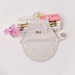 2018 summer baby belly pocket cotton baby belly pocket baby belly pocket baby baby baby belly pocket Stripe shallow coffee