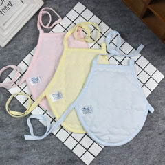 New baby with cotton belly pocket [round pocket] small color baby belly pocket 100% pure cotton A cl yellow