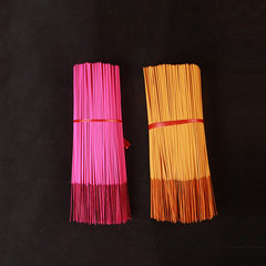 Foshan factory direct selling household gift Buddha bamboo signature incense household sandalwood go 1 kg (about 350 pieces) in bulk yellow
