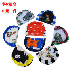 The comfortable swimming cap with large ear-protecting cloth in pure color and design is suitable fo Design and color