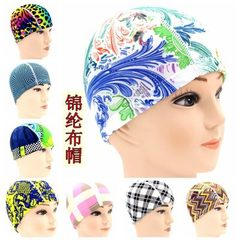 Swimming cap wholesale adult swimming cap pure color design and color mixed hair special discount sw Pure color hair