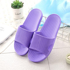 House slippers lovers new summer anti - skid simple indoor bathroom cool slippers wholesale as a sub purple 36/37