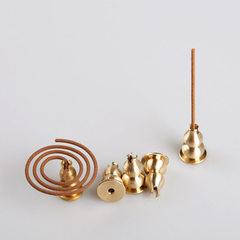 Factory direct sale copper gourd metal line incense bracket multi-functional incense burner incense  copper