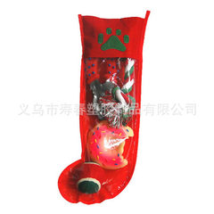 Factory direct sale Christmas socks series pet toy sets 40