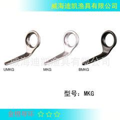 Microfiber raft, valve rod, raft rod, raft guide ring guide eye model MKG Bright silver 3.0