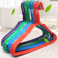 AL5587 adult clothes rack wholesale dry and wet dual - purpose plastic washing clothes rack drying c Mixed color hair 10 / the