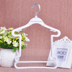 3007 manufacturers direct selling plastic clothes rack children`s clothes rack clothing store childr white Iron hook children`s clothing rack