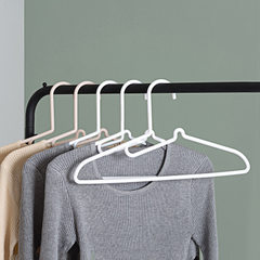 Household anti - skid not hurt collar plastic clothes rack anti - wind clothes rack balcony air - dr white