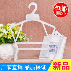 No. 3001 manufacturers direct selling children`s suit rack plastic clothes rack baby clothes rack ba yellow