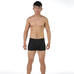 Manufacturer wholesale new bamboo fiber men`s underwear in the waist of comfortable breathable men`s black l