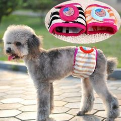 Male dog physiology with a civilized pet physiological pants anti-harassment dog clothing hygiene pa Color random No. 8