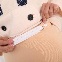 孕妇夏 孕妇安全裤防走光调节安全裤 孕妇安全裤 孕妇安全裤 夏季 肤色平口 均码