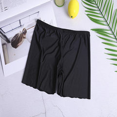 Xia style ladies wear one-piece crotch shorts with non-marking three-point safety pants thin legging black s.