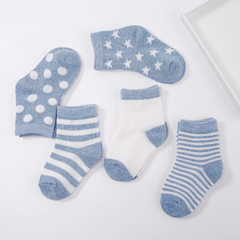 2017 new children`s socks hot style lovely autumn and winter baby socks breathable pure cotton socks Mixed color 0 and 1 year old