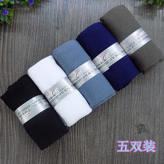 Manufacturers direct new products 5 pairs of men`s ultra-thin silk stockings supermarket high-qualit Five colors and five pairs All code