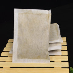 Qiqi wild qiai leaf powder non-woven bag bath raw materials blister foot absinthe powder package who powder