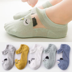 Pedodo hot style children`s socks children`s socks ice silk breathable baby socks spring summer whol Cartoon wave mesh It is recommended for ages 1-3 to have a foot length of 12-14cm
