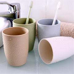 爆款北欧风卫浴水杯 情侣牙刷杯 杯子 家居日用洗漱品批发 浅绿色