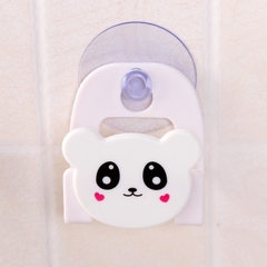 The cartoon sponge cloth of your daughter`s house is used to receive the multi-functional sink sucti white 5.7 * 6 cm