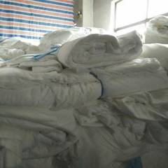 Manufacturer sells directly to supply water spiny cloth bed sheets, shoes and non-woven cloth dispos red