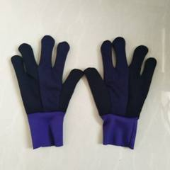 Manufacturer direct selling thickening flannelette gloves cold - proof thermal oil - proof workshop  Single layer cuff gloves