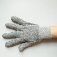 Professional customized labor protection woolen fabric gloves processing labor protection gloves who Zy - 35