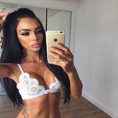 European and American new style without steel ring bikini lace hook Mosaic sex appeal bra sexy under white s.