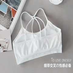 Manufacturer direct sale letter beautiful back without mark wrap breast cross - band chest cushion h Parachute white All code