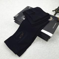 冰丝袖套女长款夏季防紫外线开车护袖手臂套防晒冰袖手套 黑色 均码