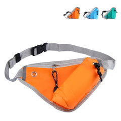 Outdoor travel close-fitting anti-theft Fanny pack cycling Fanny pack running Fanny pack morning exe green