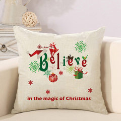 Cross-border e-commerce is selling amazon ebay`s hot style Christmas series pillow cushions with no  Christmas series -Q(without pillow core) 45 * 45 cm