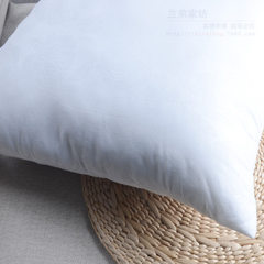 Manufacturers direct selling pillow core pillow cushion core cross - stitch pillow core PP cotton co white 50 * 50 cm = 500 grams