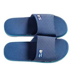 Manufacturer slippers wholesale lovers household slippers skid - proof comfortable bathroom slippers blue 37
