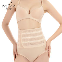 Dilixiang postpartum body-shaping abdomen with four seasons corrugated underwear girdle wholesale c- Color of skin m