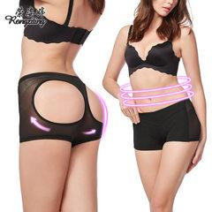Manufacturer direct sale net gauze sex appeal model body raises buttock pants lady model body underw black s.