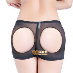 Ladies body-shaping underwear with buttock exposed women`s underwear with buttock exposed black s.