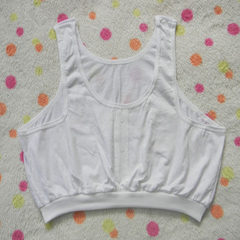 Cotton bra for middle-aged and old women white The average size is 2.3 to 2.9 feet for the lower chest