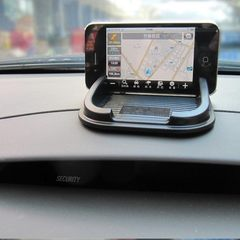 Manufacturers produce mobile phone frame car navigation stand apple mobile phone multi-function car  black 155 * 100 * 20 mm