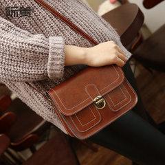 New style small square bag lady car line female bag wholesale retro single shoulder bag oblique satc Wine red