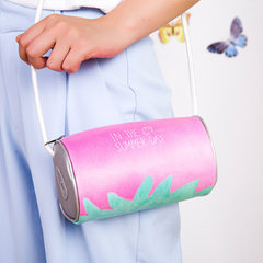 Korea small fresh strawberry oblique satchel cute little bag women Japan is the original old wind si A strawberry