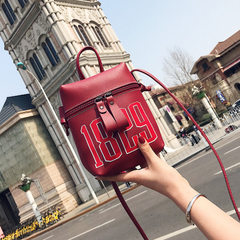 New style handbag fashion letters small backpack mini oblique cross - phone bag Korean version of wo Design a