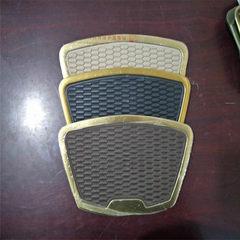 Fan-shaped foot pad pedal anti-skid foot pedal black