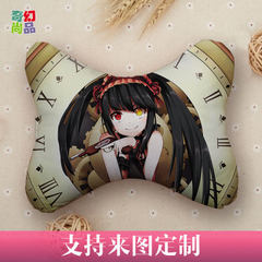 Cartoon car head pillow customized cute creative cartoon car head pillow to customize the chair neck Support for drawing customization