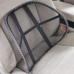 Black and white mesh fabric for car cushion empty mesh waist by four seasons ice wire car waist cush 38 * 40 cm