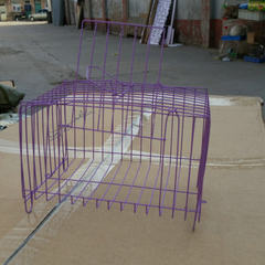 Rabbit cage squirrel cage guinea pig cage outside the cage transport cage small square cage random
