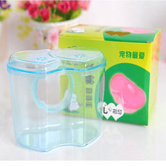 BO outside the bathroom pet hamster sauna room bath room sand bath room suitable for supporting acry Mixed color