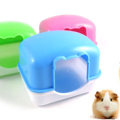 The cage of hamster in fixed bedroom can be fixed with the special cage for pet blue
