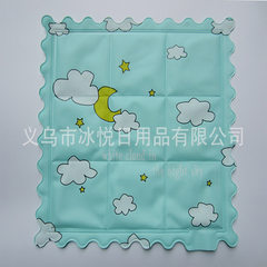 Summer cooling cooling cooling cooling chair cushion cartoon pet ice pad cartoon ice crystal pad A combination of multiple colors and patterns